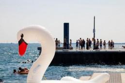 Peer Kingston summer waterfront